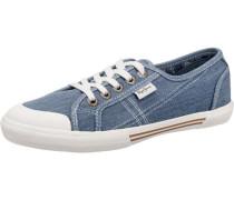'Abernew' Denim Sneakers blau