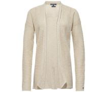 Strickjacke 'hellis Wrap' beige