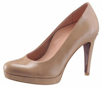 High-Heel-Pumps 'Heart & Sole' nude