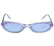 Sonnenbrille violettblau / transparent