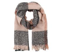 Schal 'A Talise' grau / pink
