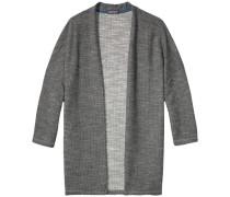 Homewear 'Laisha lurex wrap' rauchgrau