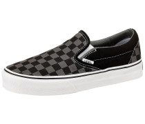 Classic Slip-On Sneakers schwarz