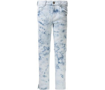 7/8 Jeans Jane Skinny Fit high elastic im Batik-Look für...