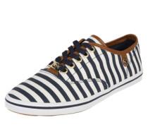 Sneaker 'Stripe' navy / weiß