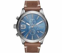 Chronograph 'rasp Dz4443' himmelblau / braun