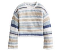 Pullover hellblau / beige