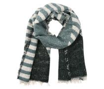 Langer Schal mit Muster 'Pcdalura' blau