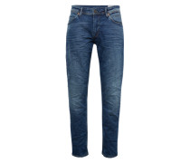 Jeans 'Regular Atwood bright blue' blue denim