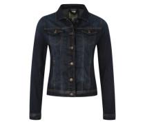 Klassische Jeansjacke blau