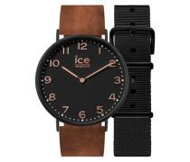 Armbanduhr »Ice city Leyton Chl.a.ley.41.n.15« braun / schwarz