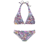 Triangel-Bikini rosa
