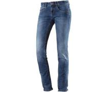 Heidi Straight Fit Jeans Damen blue denim