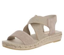 Sandale grau / beige