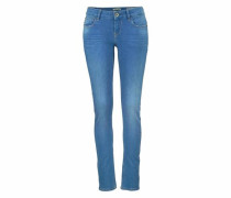 Slim-fit-Jeans 'Riva' blue denim