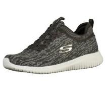 Sneaker grau / schwarzmeliert