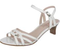 Sandalette 'Birkin' weiß