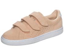 'Basket Classic Strap' Sneaker Damen altrosa