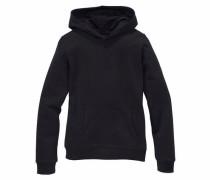Kapuzensweatshirt schwarz