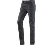 NeelaTZ Skinny Fit Jeans Damen grau