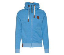 Zipped Jacket 'Birol Viii' blau
