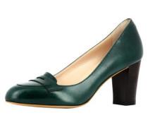 Damen Pumps dunkelgrün