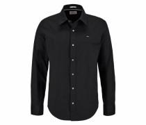 Hemd 'Sabim Shirt' schwarz