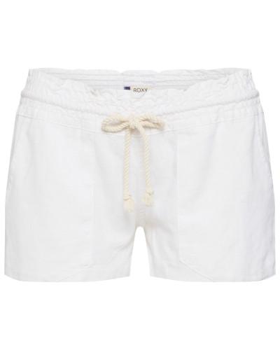 Shorts aus Leinen 'Oceanside' weiß