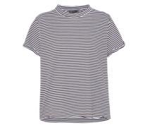 Streifenshirt schwarz / weiß