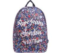 Rucksack Andrea für Mädchen blau / mischfarben
