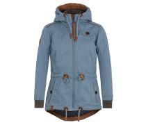 Jacket rauchblau / braun