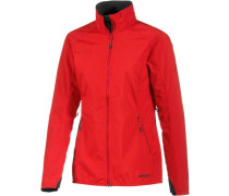 Ultimate Light Softshelljacke Damen knallrot