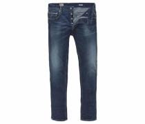 Regular-fit-Jeans 'Grover' dunkelblau