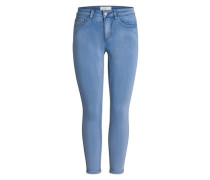 7/8 Jeans-Jeggings blau