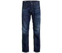 Loose Fit Jeans Boxy Leed JJ 979 blau