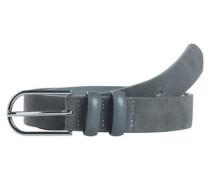 Gürtel 'Pjcady suede jeans belt' grau