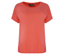 T-Shirt 'Marble' rosé