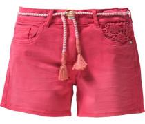 Jeansshorts für Mädchen pink