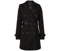 Femininer Mantel schwarz