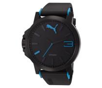 "Armbanduhr "" 10294 Ultrasize - Black Blue Pu102941002"" schwarz"