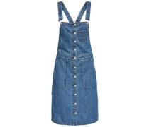 Latzkleid aus Jeans blau