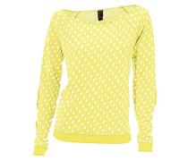 Tupfenshirt gelb