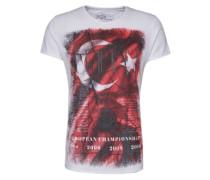 T-Shirt 'Team Turkey' weiß
