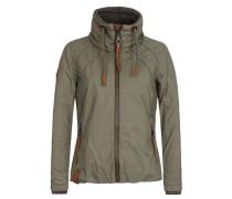Jacket 'Tittis Galore' braun / oliv
