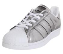 Sneaker 'Superstar' silber / weiß