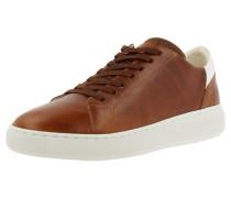 Sneaker weiß / braun