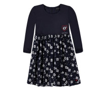Kleid mit elegantem Wickelrockteil Jerseytop Mädchen Kinder Kinder