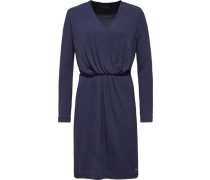Kleider »Jahia V-Nk Wrap Dress LS« blau