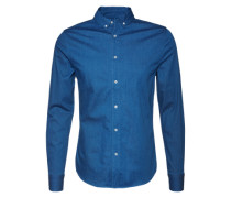 Jeanshemd blau / blue denim / dunkelblau