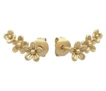 Vergoldete Ohrringe gold
